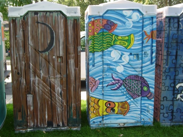 rochester designer porta potties