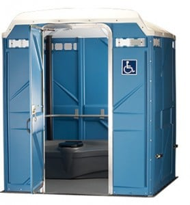 wheelchair accessible portable restroom rochester